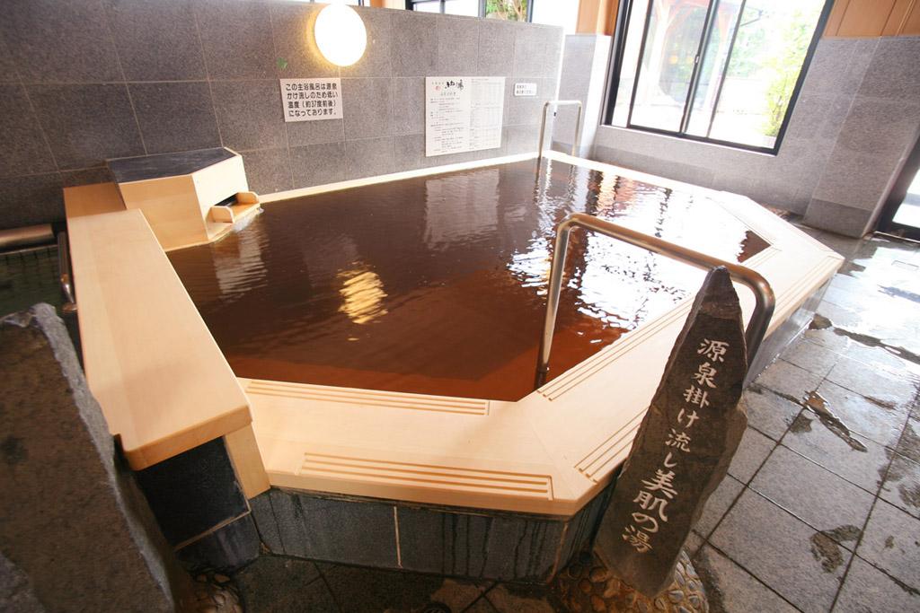 美肌の湯(天然温泉掛け流し)